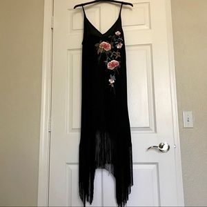 Fun LBD with small flower pattern